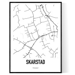 Skarstad Karta