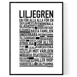 Liljegren Poster