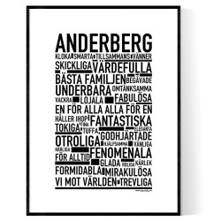 Anderberg Poster