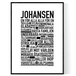 Johansen Poster