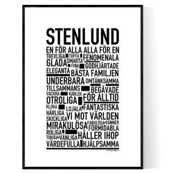 Stenlund Poster