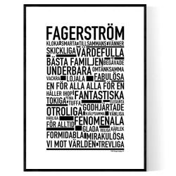 Fagerström Poster