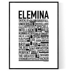 Elemina Poster