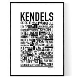 Kendels Poster
