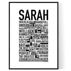 Sarah Poster