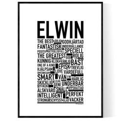 Elwin Poster