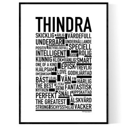 Thindra Poster