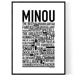 Minou Poster