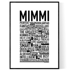 Mimmi Poster