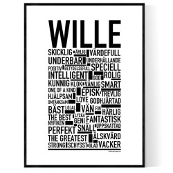 Wille Poster