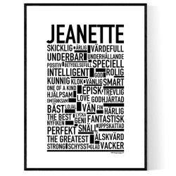 Jeanette Poster