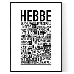 Hebbe Poster