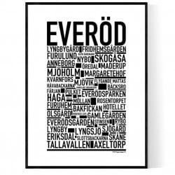 Everöd Poster