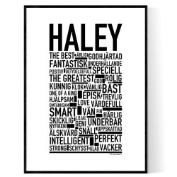 Haley Poster