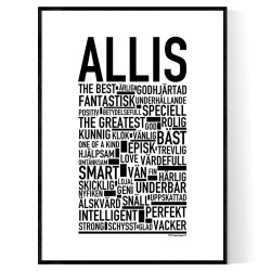 Allis Poster