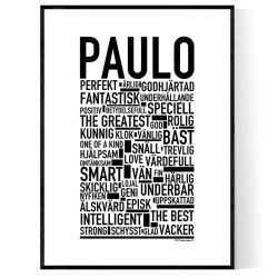 Paulo Poster