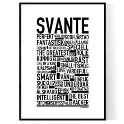 Svante Poster