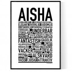 Aisha Poster