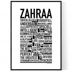 Zahraa Poster