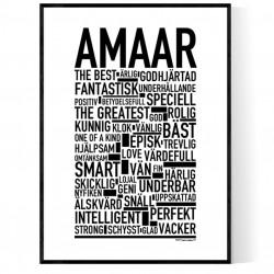 Amaar Poster