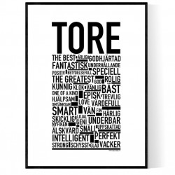 Tore Poster