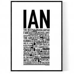 Ian Poster
