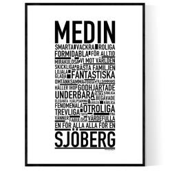 Medin/Sjöberg Poster