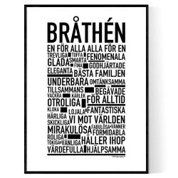 Bråthén Poster