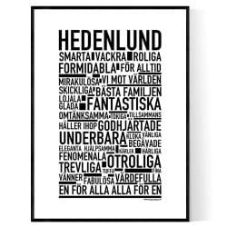 Hedenlund Poster