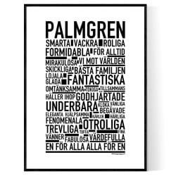 Palmgren Poster
