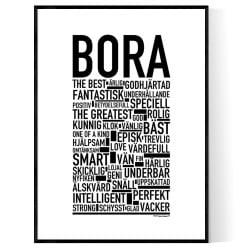 Bora Poster