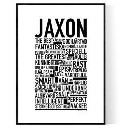 Jaxon Poster