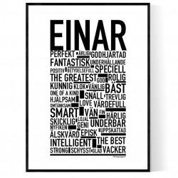 Einar Poster
