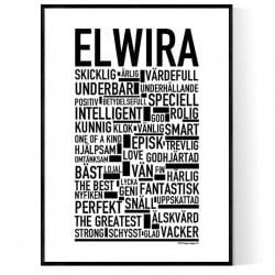 Elwira Poster
