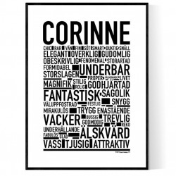Corinne Poster