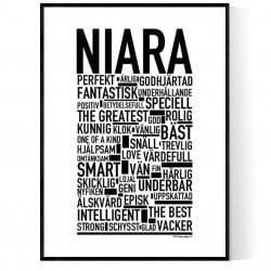Niara Poster