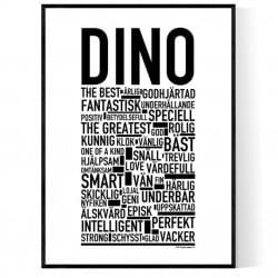 Dino Poster