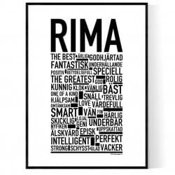 Rima Poster