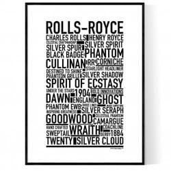 Rolls-Royce Poster