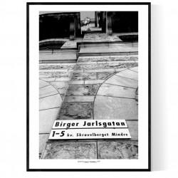 Birger Jarlsgatan 1 Poster