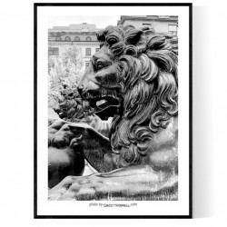 Stockholm Lions Poster