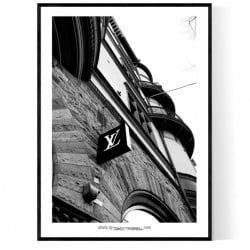 Stockholm Louis Poster