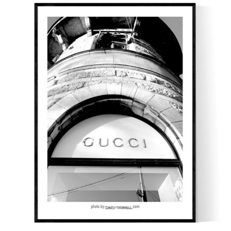 Stockholm Gucci Poster