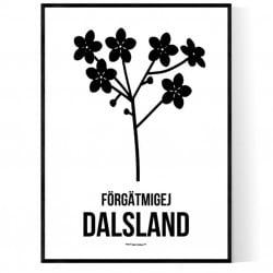 Landskapsblomma Dalsland