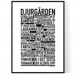 Djurgården Fotboll Poster