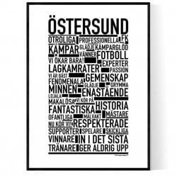 Östersund Fotboll Poster