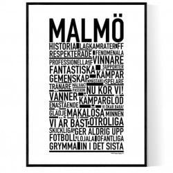 Malmö Fotboll Poster