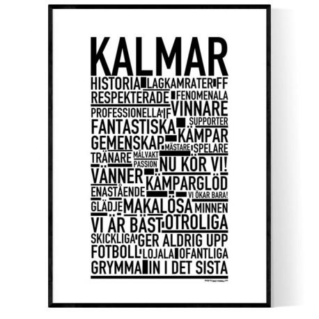 Kalmar Fotboll Poster