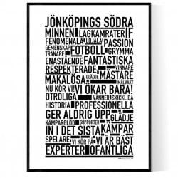 Jönköping Fotboll Poster
