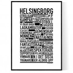 Helsingborg Fotboll Poster